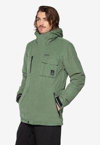 Protest - Ski jacket - mottled dark green - 0