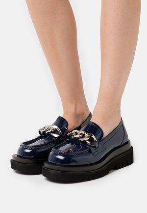 Slip-ons - navy
