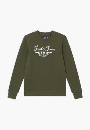 JJHERO CREW - Sweatshirt - dusty olive