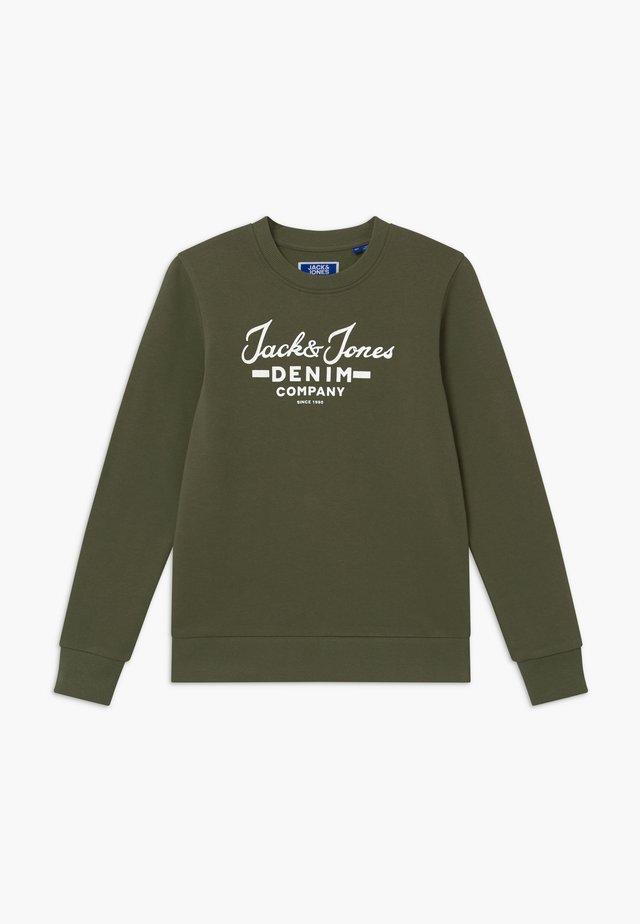JJHERO CREW - Sweatshirts - dusty olive