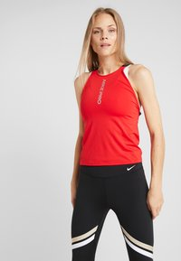 Nike Performance - CAPSULE ELASTIKA TANK  - Funktionströja - university red/metallic silver - 0