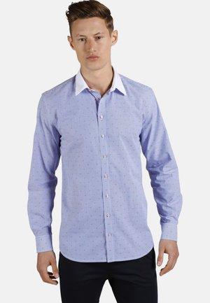 WHITE COLLAR GUY - Shirt - blue/white