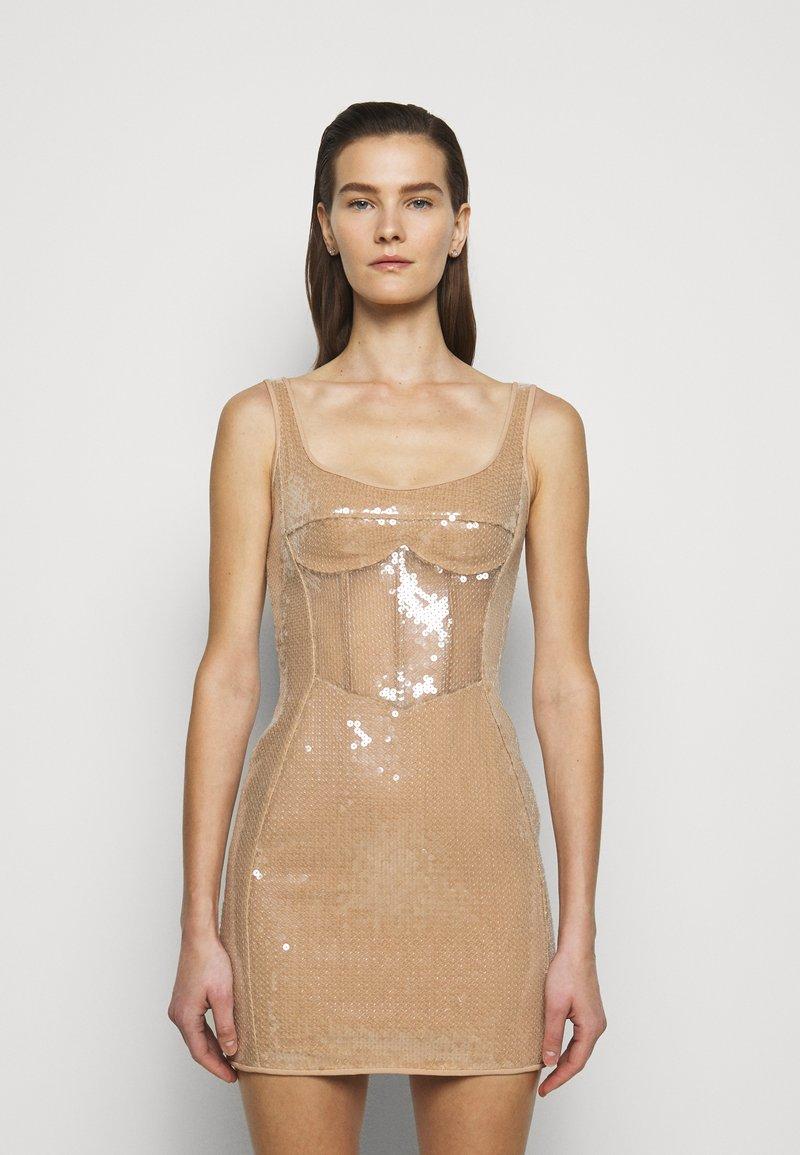 David Koma - Cocktailklänning - beige