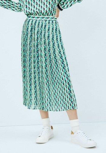 ALBA - Áčková sukně - blue