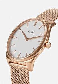 Cluse - FEROCE - Hodinky - rose gold-coloured/white - 4