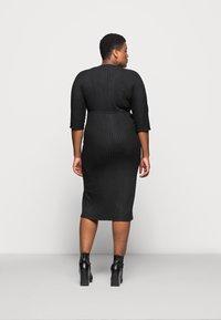 River Island Plus - Jumper dress - black - 2
