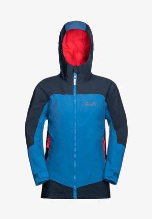 Hardshell jacket - sky blue