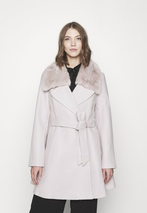JENNA COLLAR COAT - Mantel - mink