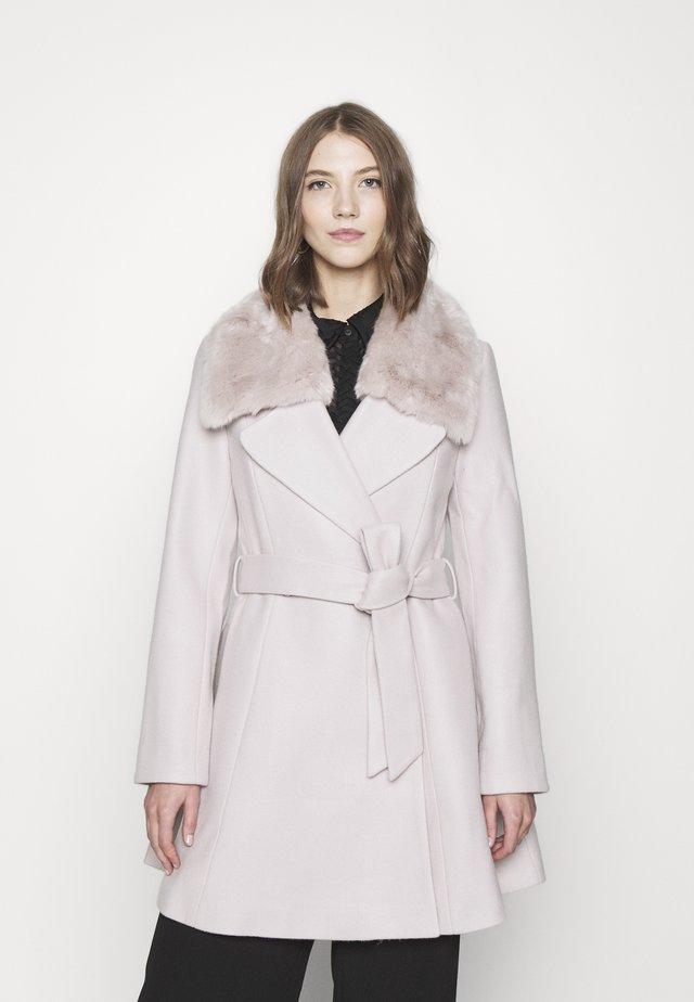 JENNA COLLAR COAT - Classic coat - mink