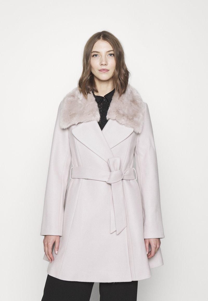 Forever New - JENNA COLLAR COAT - Classic coat - mink