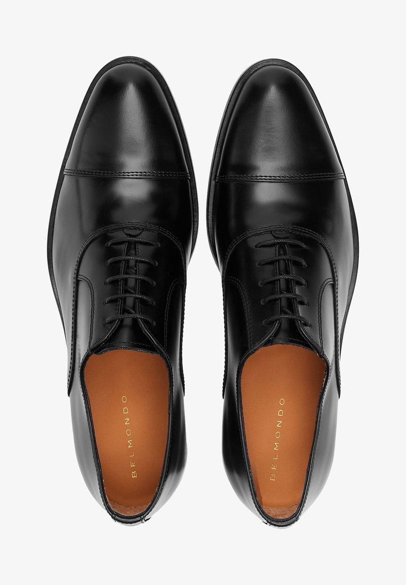 Belmondo - BUSINESS - Smart lace-ups - schwarz
