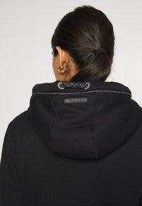Ragwear - NESKA ZIP - Mikina na zip - black - 3