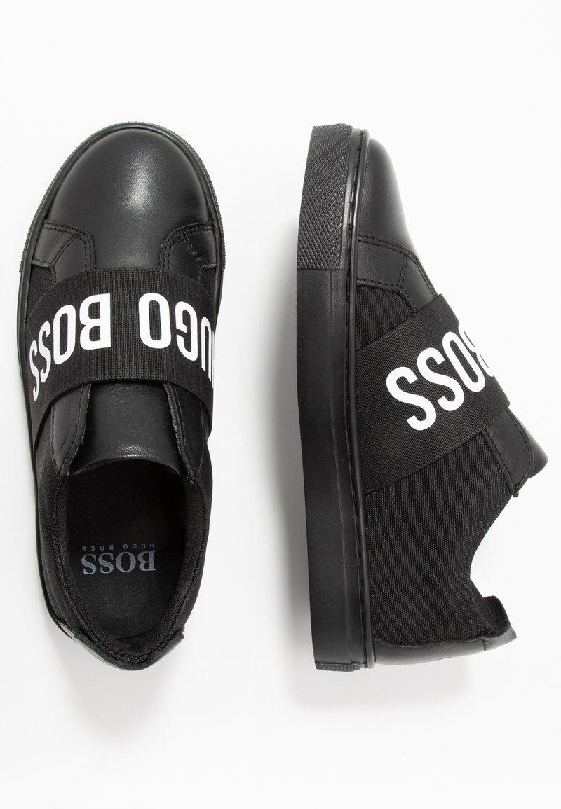 BOSS Kidswear - TURNSCHUHE - Slippers - schwarz