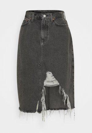 JOHANNA - Denim skirt - smokey mountain