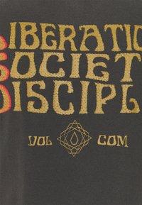 Volcom - PSYCHONIC S/S TEE - T-shirt con stampa - black - 2
