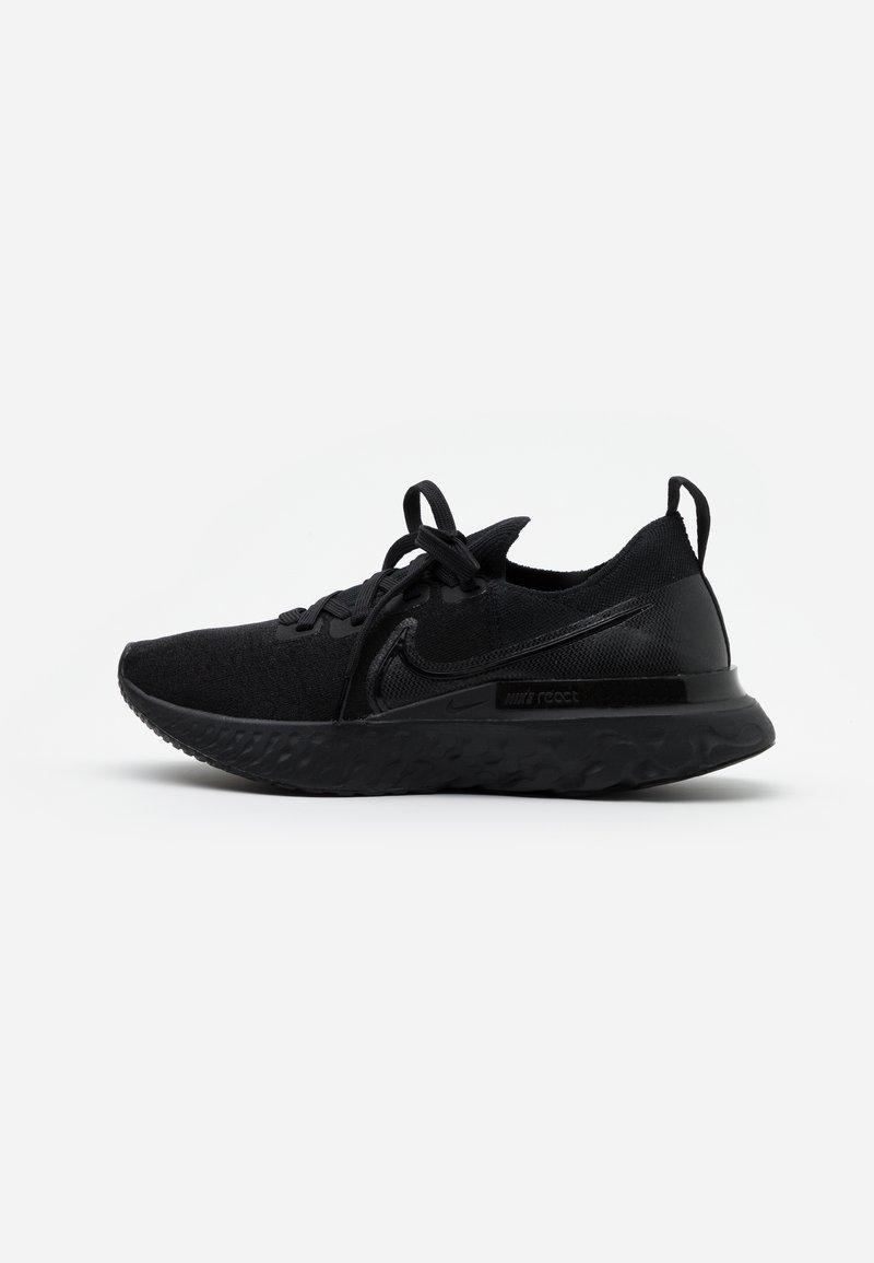 Nike Performance - EPIC PRO REACT FLYKNIT - Nøytrale løpesko - black/white