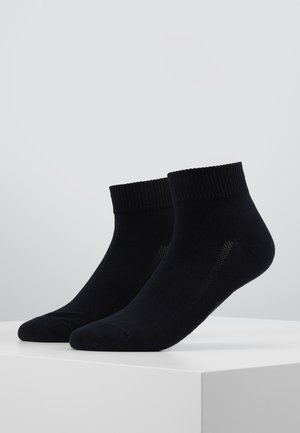 MID CUT 2 PACK - Socks - jet black
