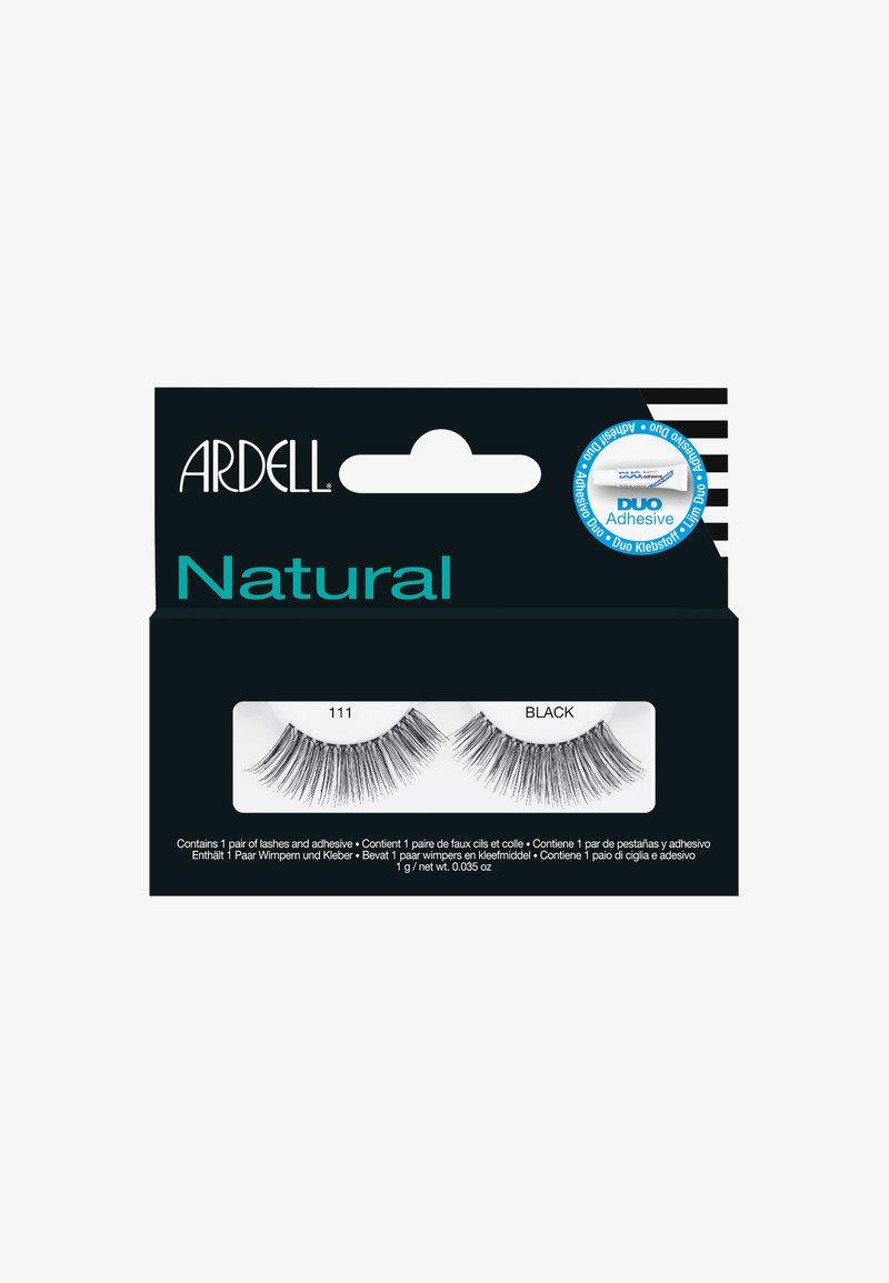 Ardell - 111 BLACK - False eyelashes - -