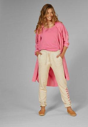 Shirt dress - candy pink