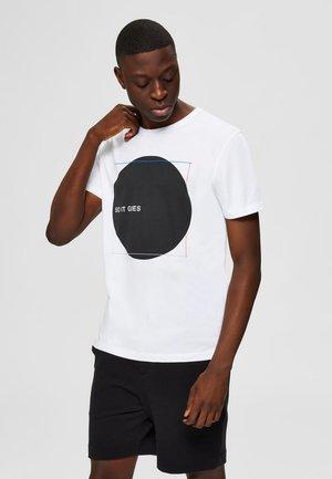 Print T-shirt - bright white 2