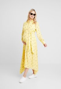 IVY & OAK Maternity - MATERNITY DRESS - Skjortekjole - sunshine - 2