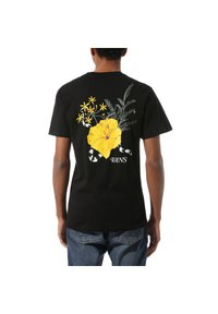 Vans - SUPER BLOOM - T-shirt z nadrukiem - black - 1