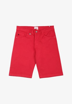 Jeansshort - rosso