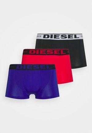 3 PACK - Pants - black/red/blue