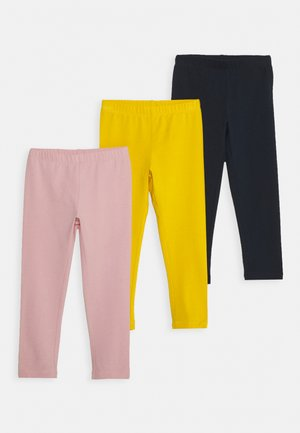 NKFVIVIAN SOLID 3 PACK - Leggings - Trousers - spicy mustard