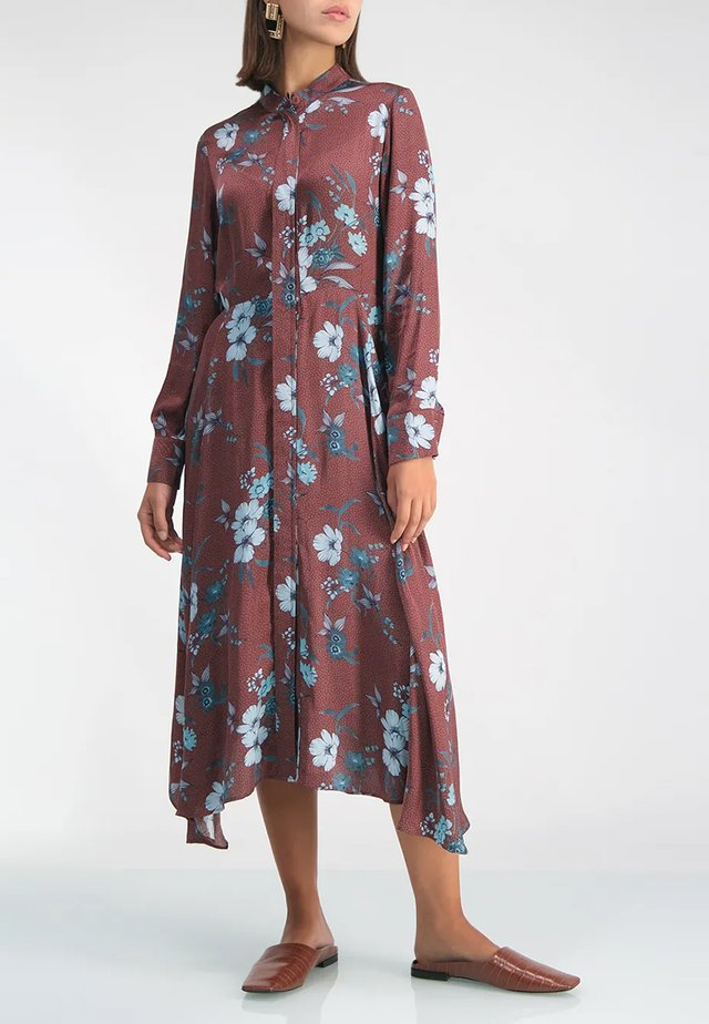 LOIS  - Shirt dress - brown