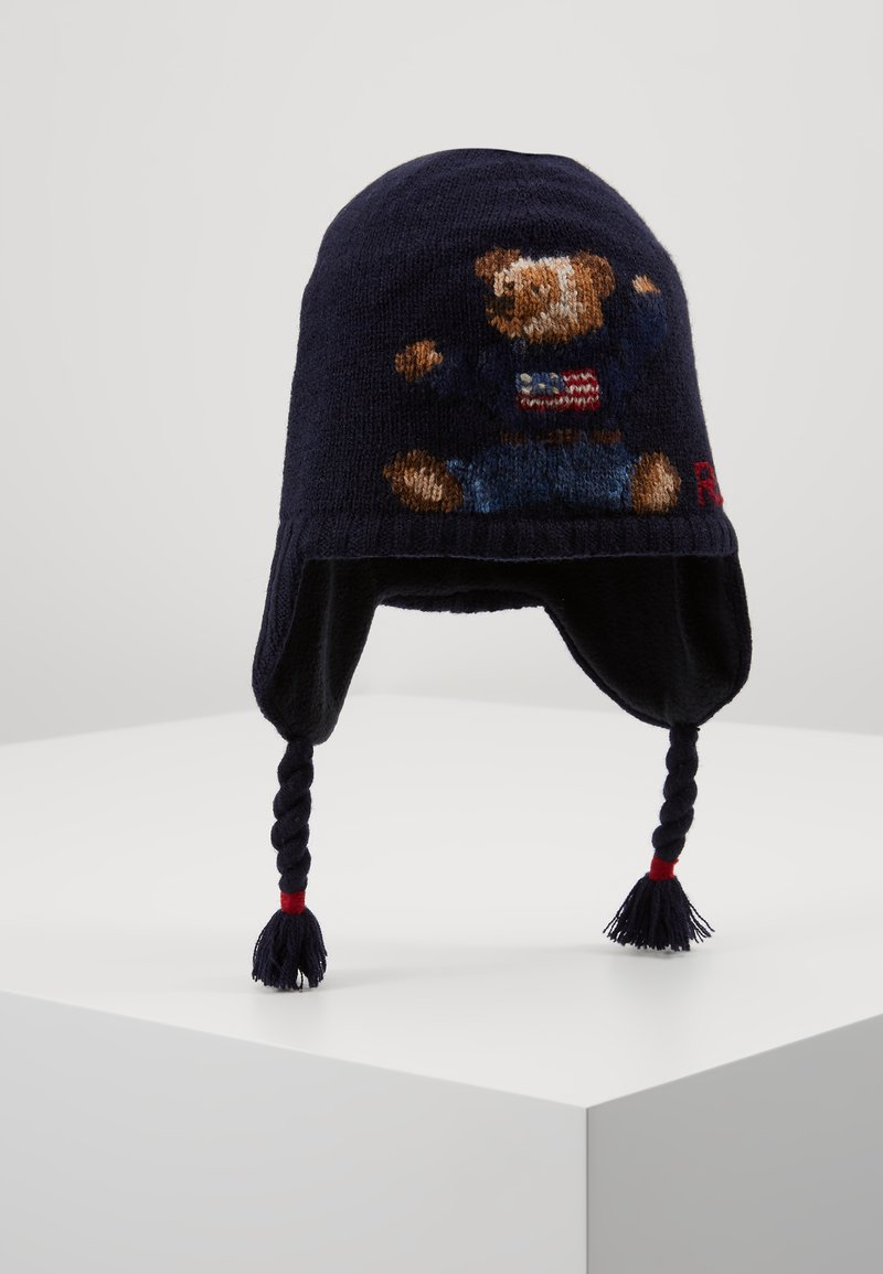 Polo Ralph Lauren - BEAR EARFLAP - Bonnet - navy