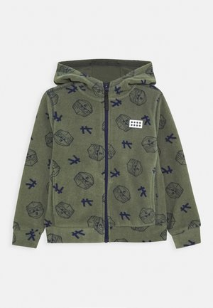 Fleece jacket - dark green