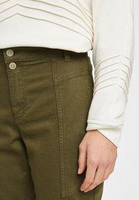 comma casual identity - Trousers - khaki - 3