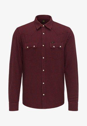 RIDER  - Shirt - red ochre