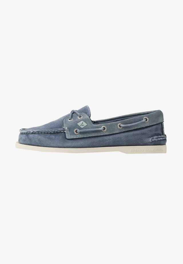 2 EYE - Boat shoes - navy