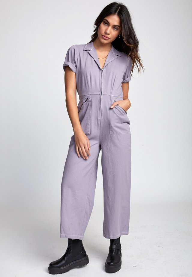 Jumpsuit - crystal lilac