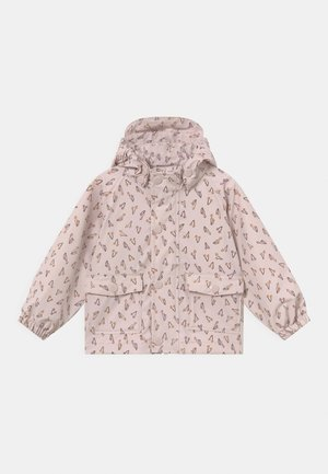 JULIEN UNISEX - Waterproof jacket - mauve chalk