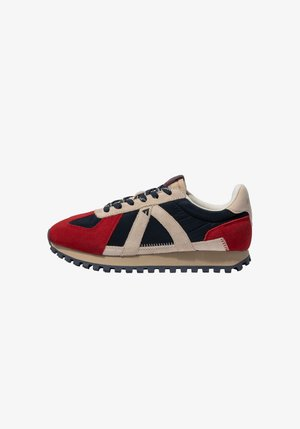GATE GAT005 - SNEAKER LOW - Trainers - navy tan red