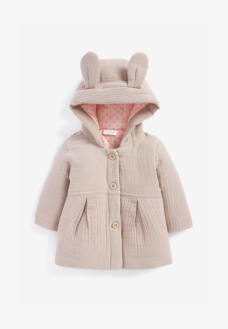 Next - CRINKLE FABRIC - Light jacket - mauve