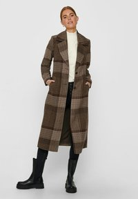 ONLY - Classic coat - chicory coffee - 1