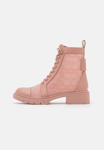 LANA BOOTIE - Lace-up ankle boots - dusty rose