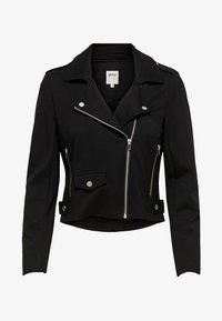 ONLPOPTRASH  - Faux leather jacket - black