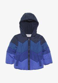 mothercare - BABY JACKET COLOURBLOCK - Winter jacket - blue - 2