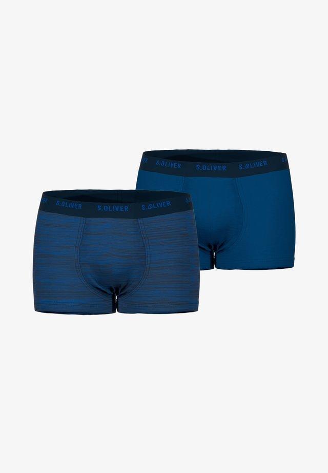 2 PACK - Onderbroeken - dark blue melange