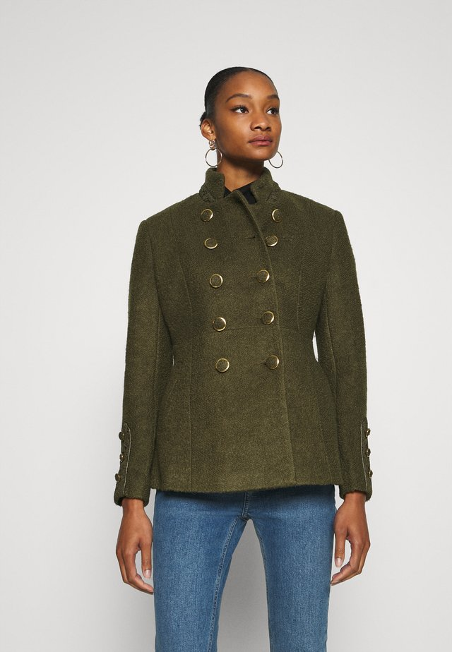 ANNABELLCR SHORT COAT - Classic coat - kalamata