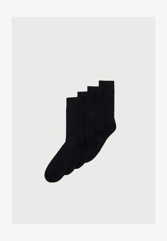 JBS OF DENMARK SOCKS 4PACK - Sokken - sort
