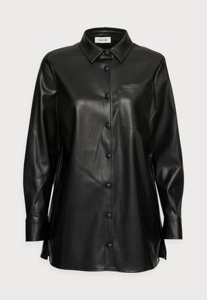 JACKSON SHIRT - Button-down blouse - black