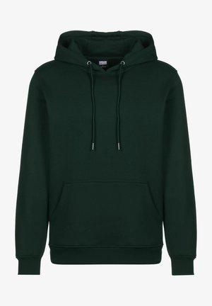 Hoodie - bottlegreen