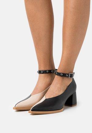 KAPPA - Classic heels - black/nude