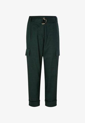 Trousers - leaf green